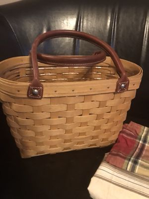 Longaberger purse tote for Sale in Delaware, OH