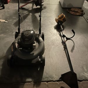 lawn mower and trimmer for Sale in Orlando, FL