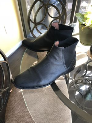 11,5 H&M black leather shoes brand new!!! for Sale in Alexandria, VA
