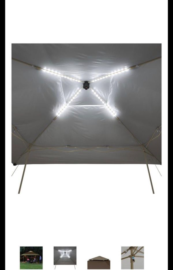 Ozark Trail 14' x 14' Instant Lighted Canopy (196 Square feet) rally new