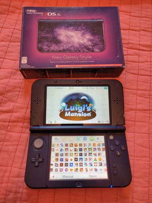 Galaxy purple Nintendo new 3ds xl with 130 3ds games , ds , 2ds for Sale in Los Angeles, CA