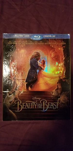 Beauty & the Beast Blu-ray/DVD for Sale in Hilliard, OH
