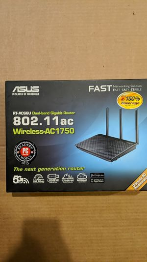 Asus wireless router RT-AC66U for Sale in Portland, OR