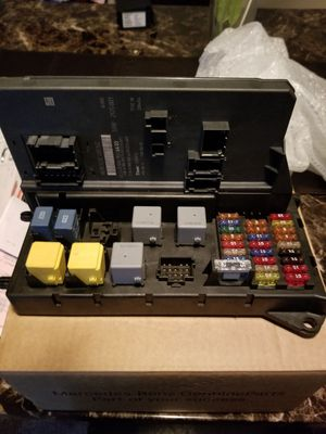 2012 fusebox w/signal acquisition module for Sale in Suitland, MD