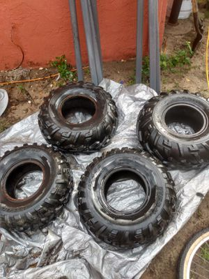 Goodyear and titan atv tires for Sale in Brandon, FL