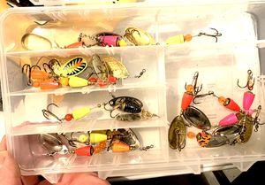 Box Salmon Steelhead Coho Spinners Fishing for Sale in Wilsonville, OR