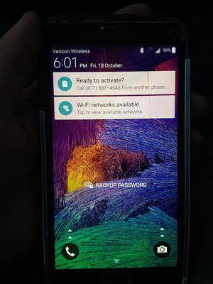 Samsung Galaxy note 4 for Sale in Shelton, WA