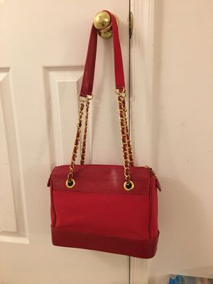 Red and gold chain bag for Sale in Fairfax, VA
