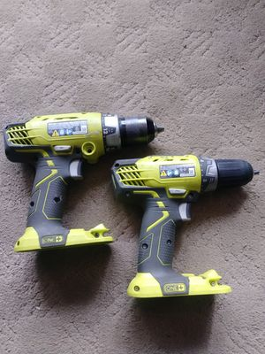 18V. Drills. ( Drills Only) for Sale in West Chicago, IL
