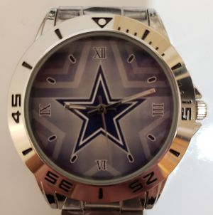 Stainless Steel Dallas Cowboys watch for Sale in Baltimore, MD