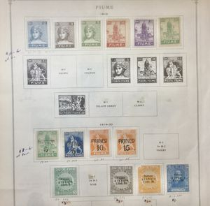Obscure Stamps #2 - 1919 & 1920 FIUME Issues for Sale in Southfield, MI