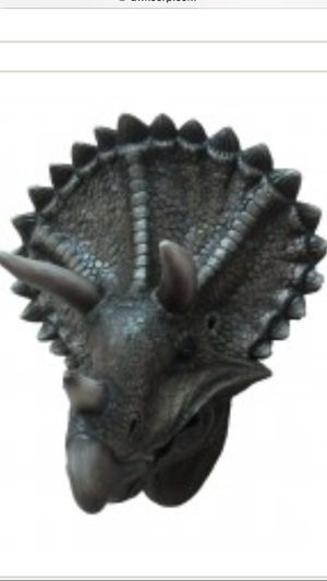 Triceratops Dinosaur Wall Decor. Realistic look for Sale in Garden Grove, CA