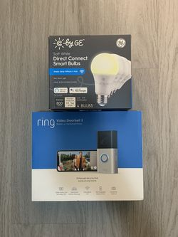 Ring Doorbell 3 & 4 C By GE Smart Light Bulb Brand New Sealed for Sale in Orlando,  FL