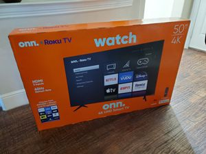 Roku tv 50 inch 4k ultra smart led... new in box and sealed for Sale in Plano, TX