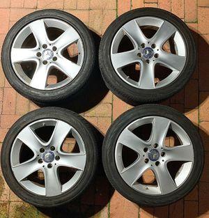 Mercedes Benz 17 wheels rims tires CLA 250 W246 for Sale in San Diego, CA