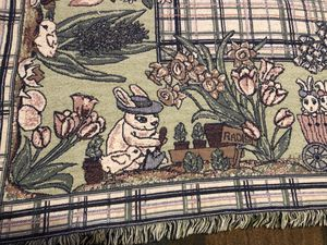 Bunny rabbit throw blanket for Sale in Saint Charles, MO