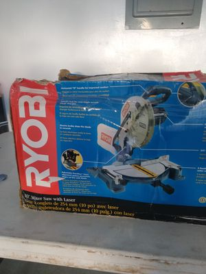 """Ryobi 10"""" meter saw with Lazer for Sale in Costa Mesa, CA"""