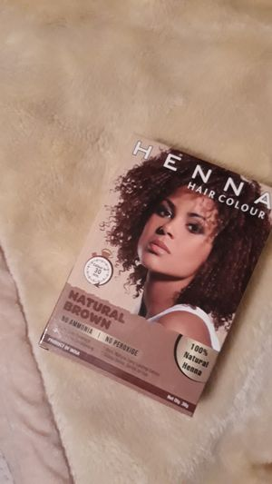 Henna hair color (Natrual brown ) for Sale in Victorville, CA
