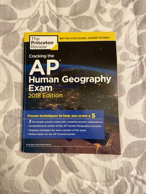 The Princeton Review AP Human Geography Exam text book for Sale in Jersey Village, TX