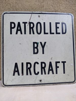 Sign patrolled by aircraft for Sale in Los Angeles, CA