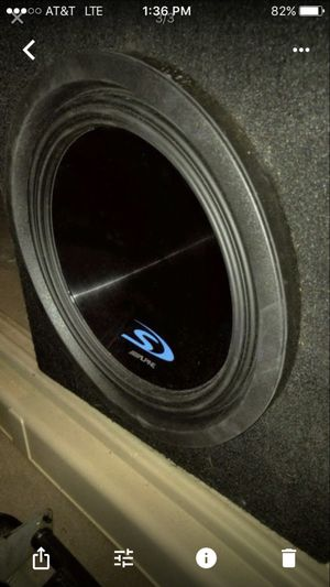 Alpine 12 subwoofer for Sale in Miami, FL