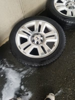 """22"""" rims and tires for Sale in Seattle, WA"""