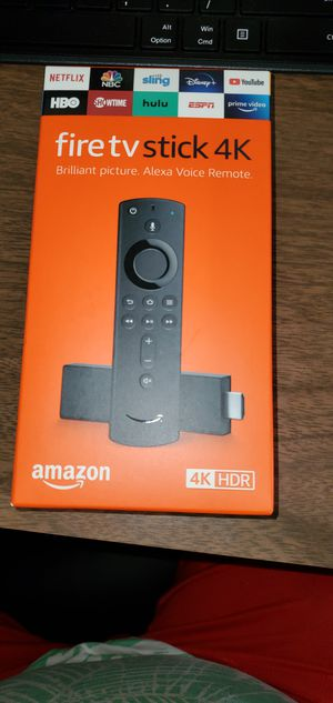 4K brand new amazon firestick with live tv. Alexa built in for Sale in Farmington Hills, MI