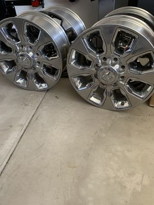 2019 Dodge Ram 2500 20inch Factory rims. for Sale in Lakewood, CA
