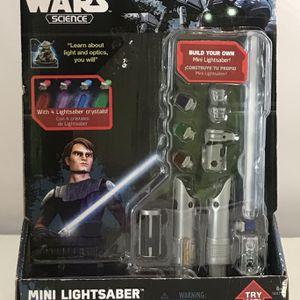 Star Wars mini Lightsaber - NIB! Tech Lab by Disney for Sale in Evanston, IL