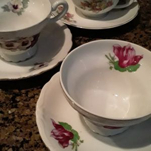 Cups and Saucers Sets Perfect From Japan And Brazil Perfect China 27 Sets for Sale in Las Vegas, NV
