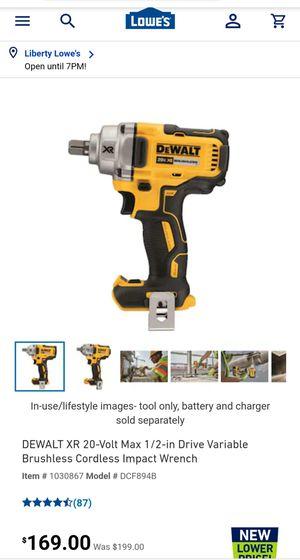 Dewalt 12 v max Cordless, brushless impact drill for Sale in Kansas City, MO