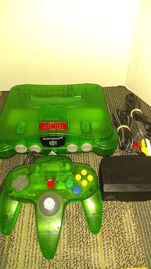 N64 jungle green for Sale in Phoenix, AZ