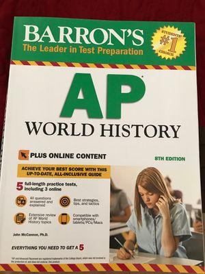 AP WORLD HISTORY TEST PREP for Sale in Fresno, CA