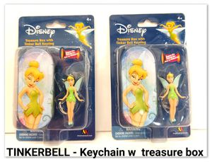 TINKERBELL - Keychain w treasure box for Sale in Santa Fe Springs, CA