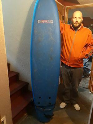 Soft top 7ft foam shortboard surfboard surf board for Sale in Tacoma, WA