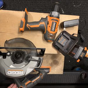 Ridgid Set for Sale in Bloomingdale, IL