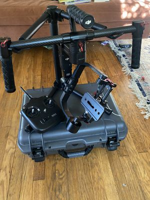 Ronin M with 30mm extension rods and nanuk case for Sale in Claremont, CA