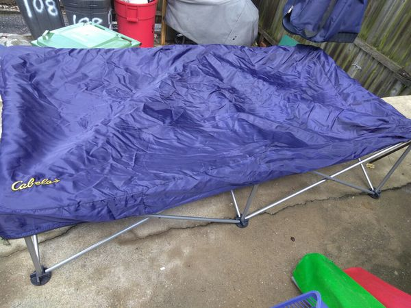 Camping Twin bed frame with Bag