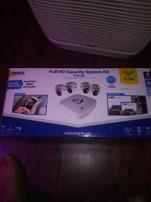 New security cameras system never used have added hard drive for Sale in Baltimore, MD