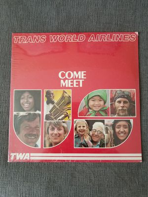 TWA Record Album Sealed for Sale in Washington, DC