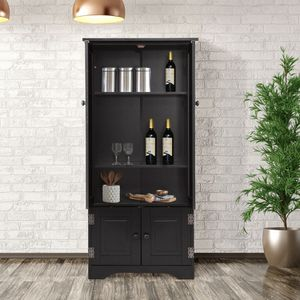 Costway Accent Storage Cabinet Adjustable Shelves for Sale in Whittier, CA