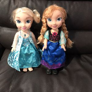 Elsa And Ana Both Sing Good Conticion Takes Both For $15 for Sale in Laveen Village, AZ
