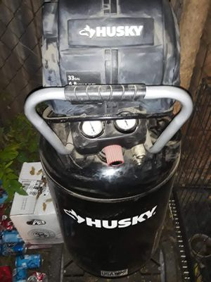 Husky compressor 33gallon for Sale in Fort Worth, TX