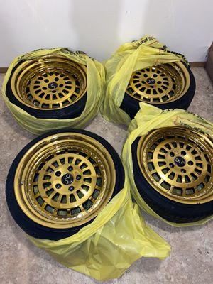 """18"""" gold rims (JNC brand) for Sale in Tacoma, WA"""