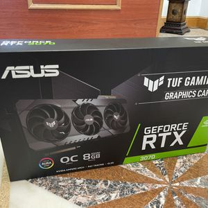 ASUS RTX 3070 Tuf Gaming OC Graphics Card *Sealed, New* for Sale in Queens, NY