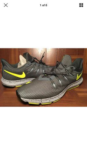 Nike Quest SE Gray/Yellow Running Shoes Size 13 New!! for Sale in The Bronx, NY