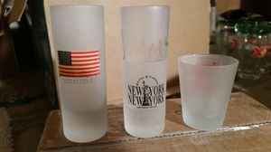 """The """"I love the United States"""" glass collection for Sale in Woodstock, GA"""