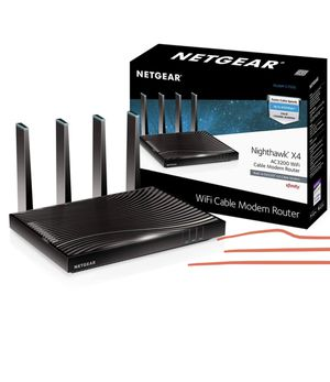 WiFi cable modem router for Sale in Anaheim, CA