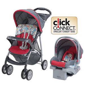 Grace stroller with car seat and base for Sale in Bentonville, AR