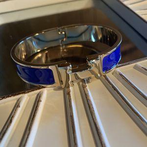 Women's clic clac H blue enamel bracelet for Sale in Tracy, CA
